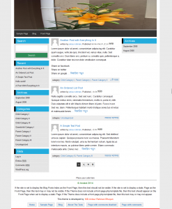 Ahoban wordpress blog theme