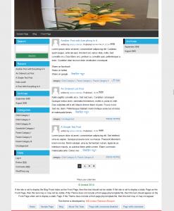 Ahoban wordpress blog theme
